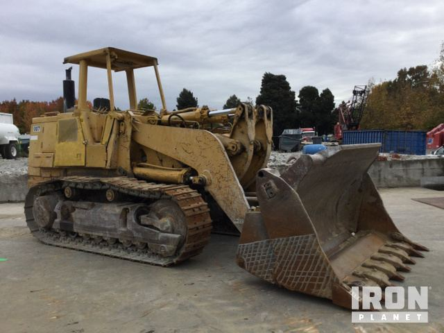 Cat 973 crawler loader in hayward california united states photos videos publicscrutiny Choice Image