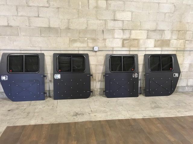 HMMWV Humvee X Panel Hard Door Kit & HMMWV Parts For Sale   GovPlanet pezcame.com