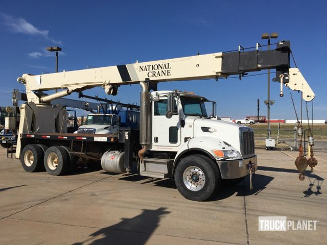 National 900a straight boom on 2009 peterbilt 340 ta straight boom photos videos sciox Images