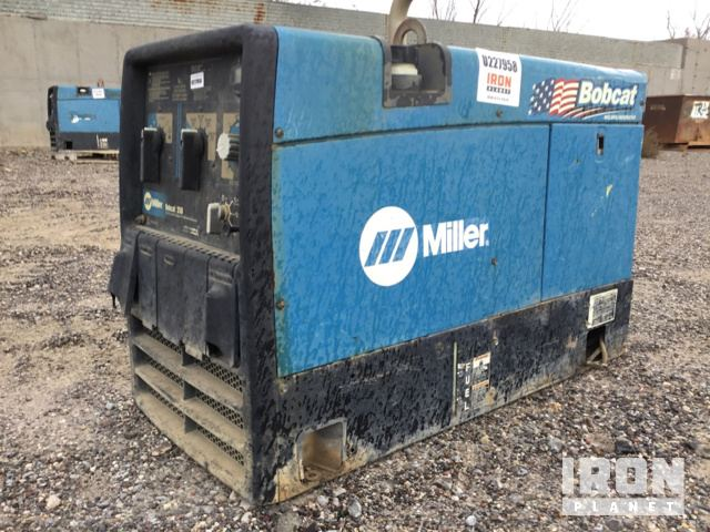 2009 Miller Bobcat 250 Engine Driven Welder in Silver City, New ...