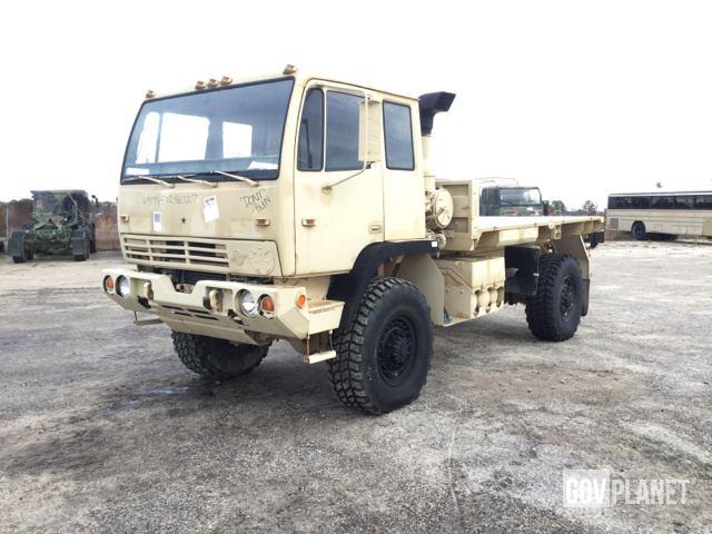 1994 stewart stevenson m1078 lmtv 4x4 cargo truck in for Planet motors on military