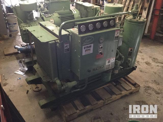 sullair 10b 25ac electric air compressor in prince george british rh ironplanet com