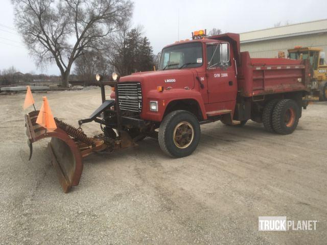 1996 ford l8000 s a dump truck in waterloo iowa united states rh ironplanet com 1980 Ford L8000 1992 Ford L8000