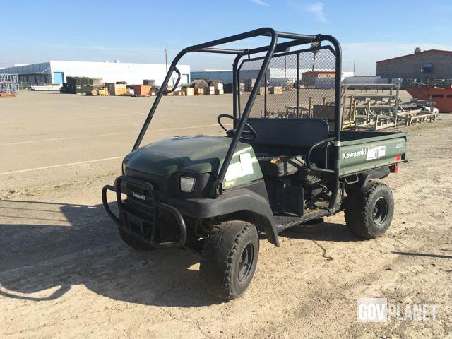 Surplus Kawasaki Mule 3010 4x4 Utility Vehicle in Tracy, California