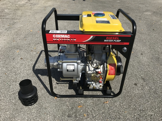 Water pumps for sale ironplanet cormac hp100etp water pump unused ccuart Image collections