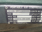 Air Compressor Serial Number
