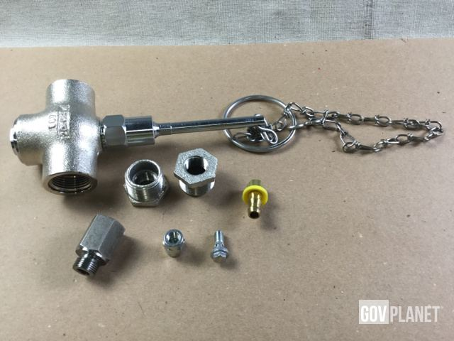 (20) Self-Closing Shower Valves, (6) Lubrication Fittings ...