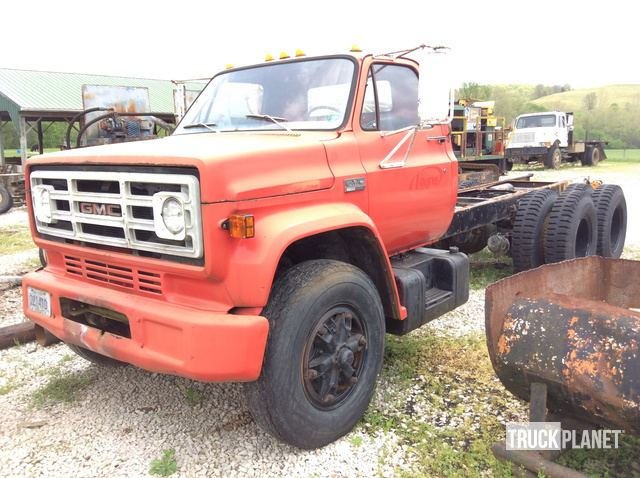 1975 unverified gmc 6500 cab chassis gmc ironplanet. Black Bedroom Furniture Sets. Home Design Ideas