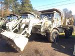 1989 Freightliner FLU419 Small Emplacement Excavator