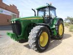 2002 John Deere 8320 Farm Tractor