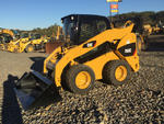 Lot 167 - 2011 Cat 262C Skid-Steer Loader