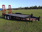 2015 Towmaster T-14D T/A Equipment Trailer