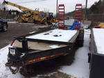 2004 Towmaster T-1400 T/A Equipment Trailer