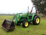 Lot 431 - 2008 John Deere 4320 4x4 Farm Tractor