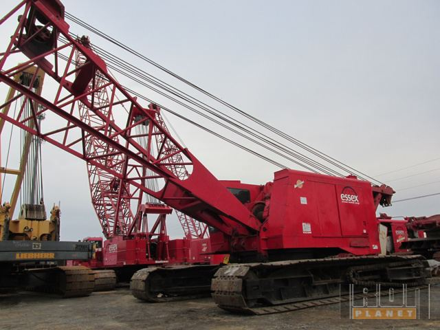 1991 Manitowac 4100W Vicon Series II Lattice Boom Crawler Crane