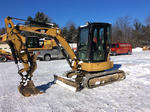 Lot 1344 - 2006 Cat 303.5C CR Mini Excavator