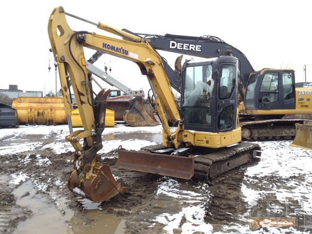 2008 Komatus PC50MR-2 Mini Excavator