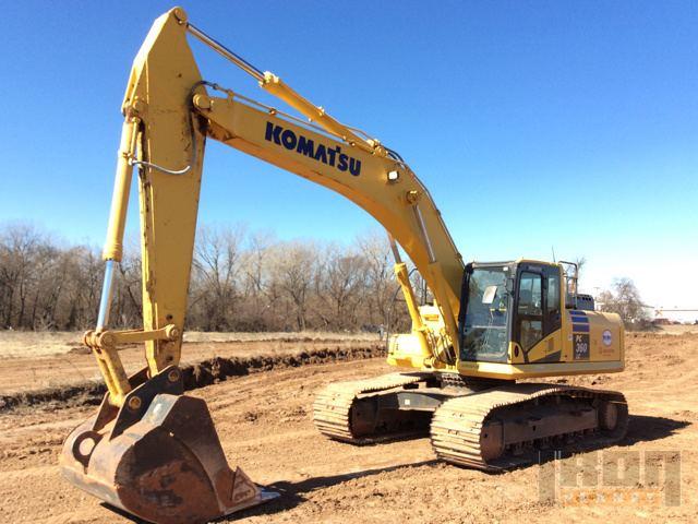 2013 Komatsu PC360LC-10 Track Excavator
