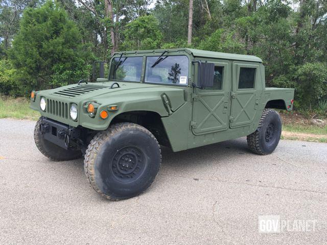 2004 AM General M1123 HMMWV 4 Door Hard Top w/Truck Body & Surplus 2004 AM General M1123 HMMWV 4 Door Hard Top w/Truck Body in ...