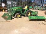2011 John Deere 3320 Farm Tractor