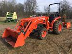 2015 Kubota L3301D 4x4 Farm Tractor