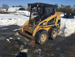 Lot 102 - 2003 Cat 216 Skid-Steer Loader