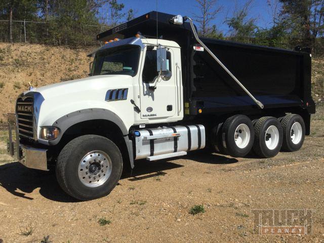 2016 Mack GU713 Tri/A Dump Truck