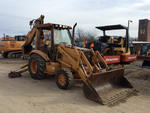 Case 580SK 4x4 Backhoe Loader