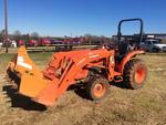 2014 Kubota L3901HST 4x4 Farm Tractor