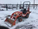 2013 Kubota BX25D 4x4 Farm Tractor