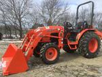 2015 (unverified) Kubota B3300HSD 4x4 Farm Tractor