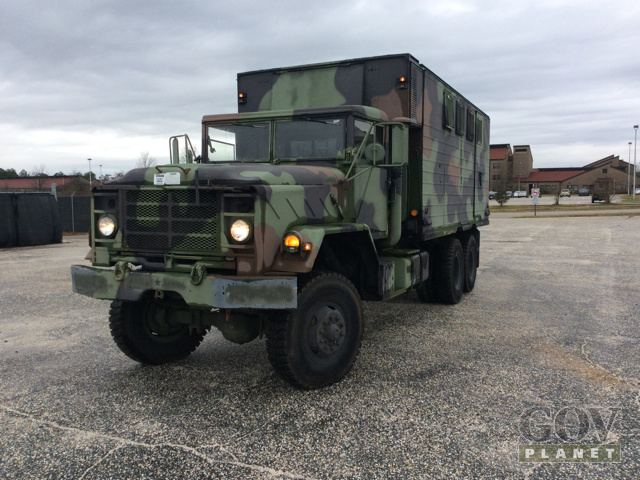 surplus am general m934 5 ton 6x6 van truck in fayetteville north carolina united states. Black Bedroom Furniture Sets. Home Design Ideas