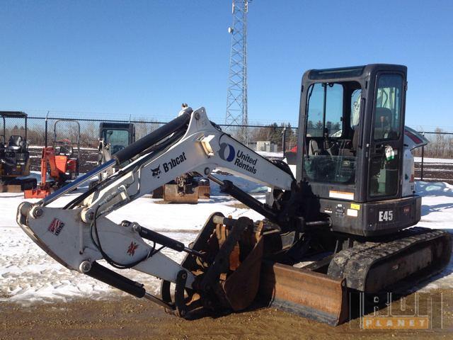 2010 Bobcat E45M Mini Excavator