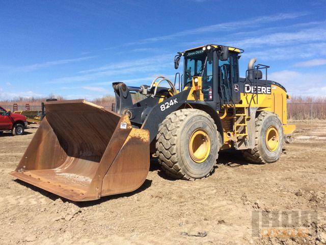 2014 John Deere 824K Wheel Loader
