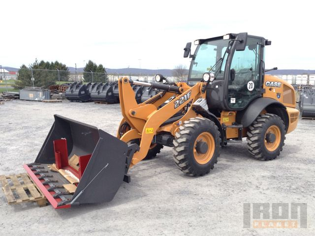 2016 Case 221F Wheel Loader - New