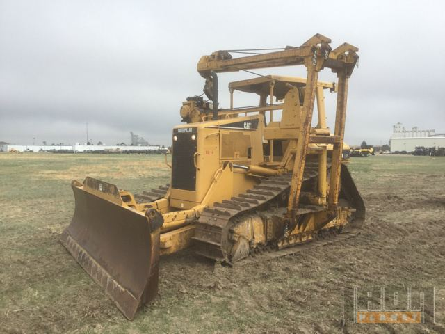 2005 Cat D6N Crawler Tractor with Pipelayer Conversion