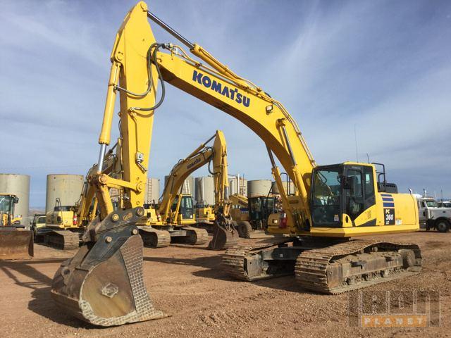 2011 Komatsu PC360LC Track Excavator