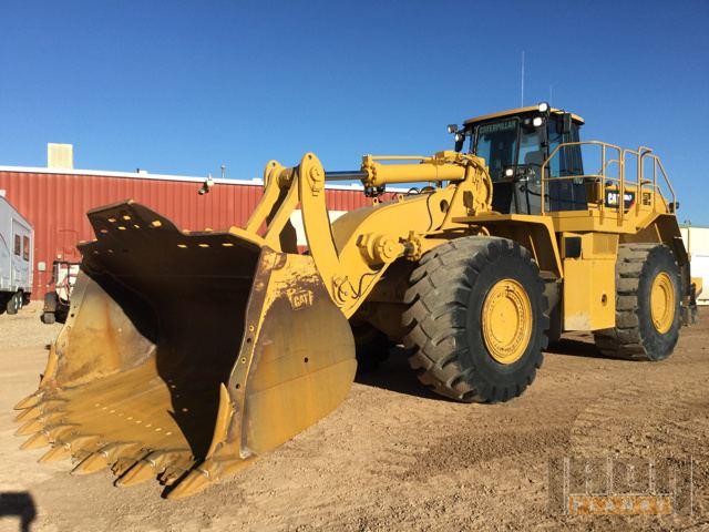 2012 Cat 988H Wheel Loader