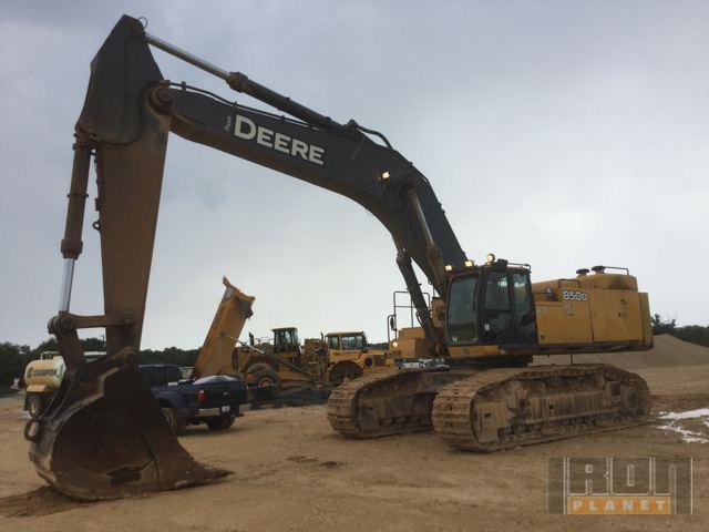 2008 John Deere 850DLC Excavator