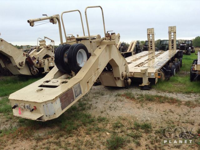 1996 Southwest Mobile Systems M1000 Five/A Equipment Trailer