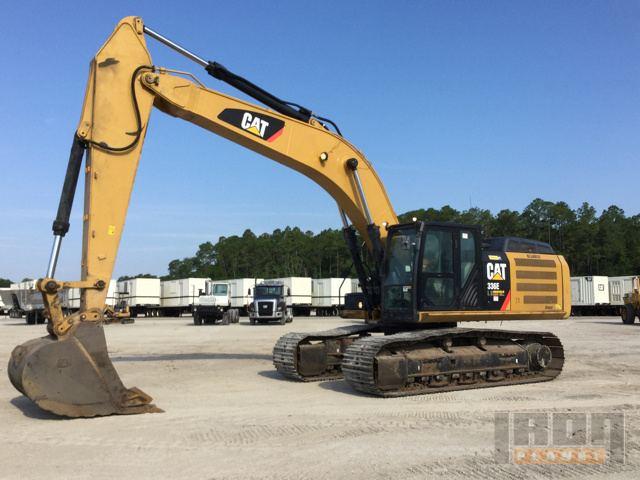 2013 Cat 336ELH Hybrid Track Excavator