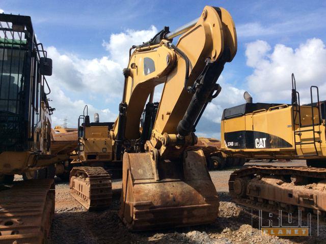 2011 Cat 374DLME Track Excavator
