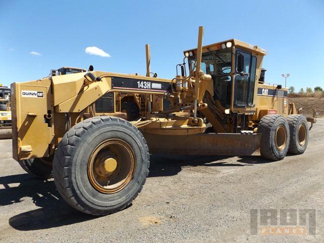 Cat 143H VHP Motor Grader