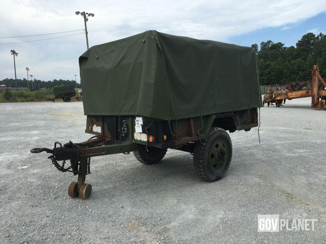 Johnson M105A2 Cargo Trailer