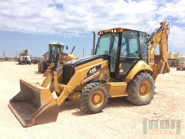 2008 Cat 416E Backhoe Loader