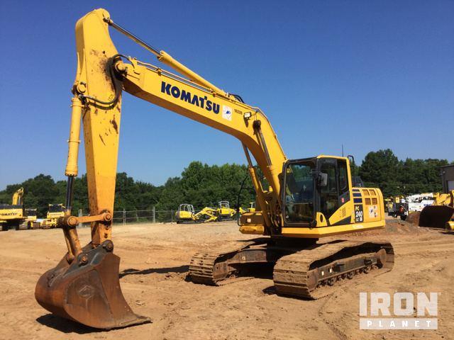 2015 Komatsu PC240LC-10 Track Excavator
