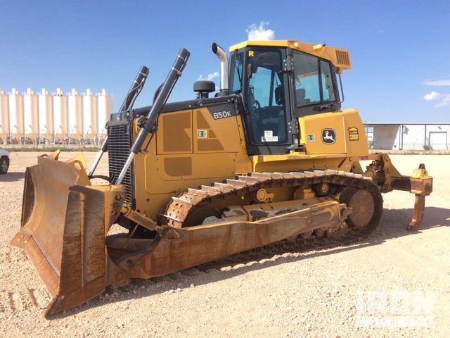 2012 John Deere 850K Crawler Tractor