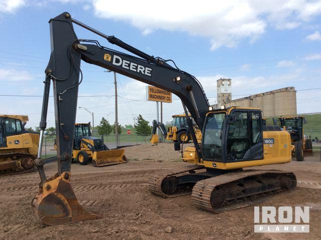 2013 John Deere 180GLC Track Excavator