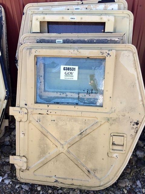 Complete Set of Humvee Hard Doors