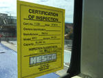 Safety Certification Label